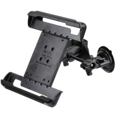 Dual Articulating Suction Cup EFB Mount with Arm & Retention Knob, and Large Tab-Tite™ Tablet Holder
